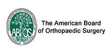 The American Board of Orthopedic Surgery logo